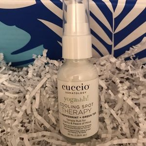 Cuccio Yogahh! cooling spray NEW!